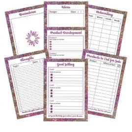 Craft planner printables