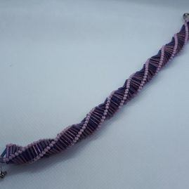 purple prisim bracelet