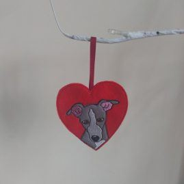 greyhound decoration