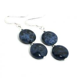 Genuine-blue-sodalite-earrings